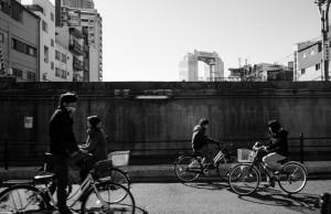 中津のJR貨物高架が取り除かれた場所