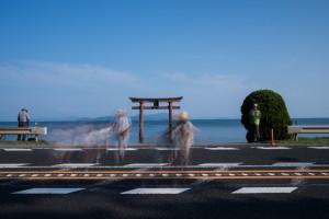 白髭神社の夏